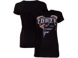 "Forza Women's ""Slither"" T-Shirt - Medium - Black"