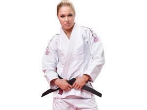 Fuji Sports Pink Blossom BJJ GI - W3 - White/Pink