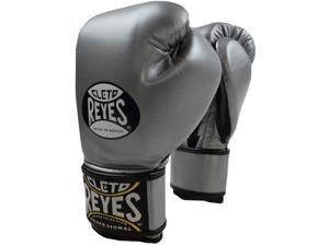 Cleto Reyes Fit Cuff Boxing Training Gloves - Medum - Titanium
