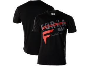 """Forza """"New Heights"""" T-Shirt - Small - Black"""