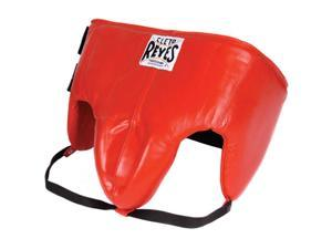 """Cleto Reyes Kidney and Foul Padded Protective Cup - XL (40-44"""") - Red"""