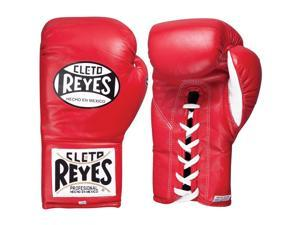 Cleto Reyes Safetec Professional Boxing Fight Gloves - 8 oz - Red