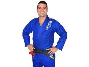 Venum Absolute Gold Weave BJJ GI - A4 - Blue