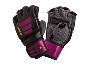 Century Women's Brave Grip Bar MMA Training Bag Gloves - Small/Medium-Black/Pink