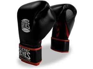 Cleto Reyes Fit Cuff Boxing Training Gloves - Medium - Black
