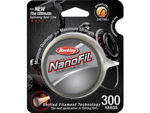 Berkley NanoFil Uni-Filament Fishing Line (300 yds)-10 lb Test-Hi-Vis Chartreuse
