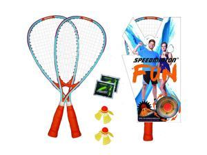 SKLZ Speedminton Fun Badminton Set with Glow in the Dark Speed Lights