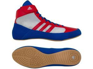 Adidas HVC Laced Wrestling Shoes - 12.5 - Blue/Red/White