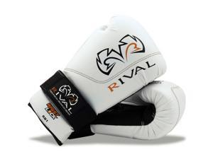 Rival Boxing RB1 Hook and Loop Ultra Bag Gloves - 12 oz - White