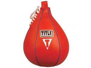 """Title Boxing Leather Speed Bag - Small (6"""" x 9"""")"""