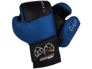 Rival Boxing RB50 Intelli-Shock Compact Bag Gloves - Medium - Blue/Black