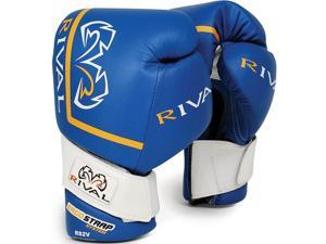 Rival High Performance Pro Sparring Gloves - 14 oz - Blue