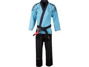 Tatami Fightwear Inverted Collection Limited Edition BJJ Gi - A2 - Aqua/Black