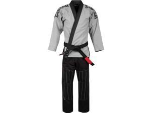 Tatami Fightwear Inverted Collection Limited Edition BJJ Gi - A4 - Gray/Black