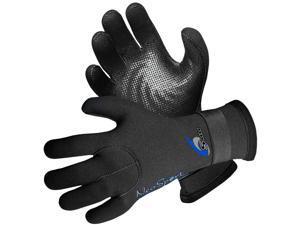 NeoSport 5mm Neoprene Full Finger Gloves - XL - Black
