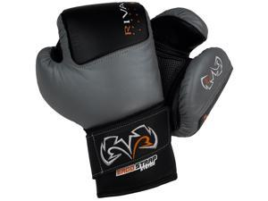 Rival Boxing RB50 Intelli-Shock Compact Bag Gloves - Medium - Black/Gray