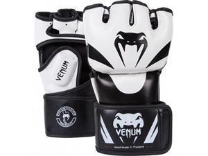 Venum Attack Skintex Leather MMA Gloves - L/XL