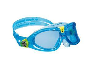 Aqua Sphere Seal Kid 2 Blue Lens Swim Goggles - Aqua/Lime
