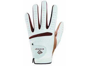 Bionic Women's RelaxGrip Caramel Palm Left Handed Golf Glove - Small