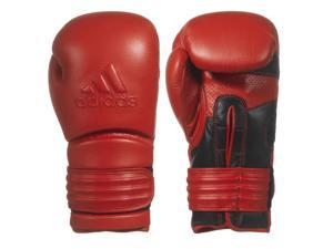 Adidas Power 300 Training Boxing Gloves - 16 oz. - Red Poppy/Black