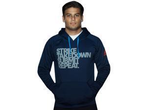 Adidas Strike MMA Pullover Hoodie - 2XL - Collegiate Navy/Gray