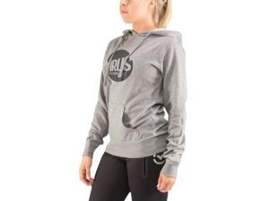 Virus Women's Outcast Lightweight Pullover Hoodie - Large - Gray/Black