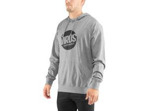 Virus Outcast Lightweight Pullover Hoodie - Large - Gray/Black