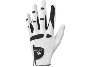 Bionic Men's Cadet StableGrip Natural Fit Left Hand Glove - Medium - White/Black