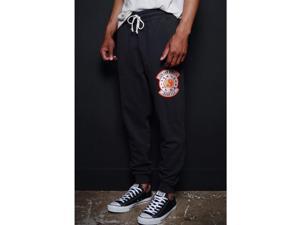 Roots of Fight Bruce Lee JFGF Institute Slim Fit Sweatpants - XL - Black