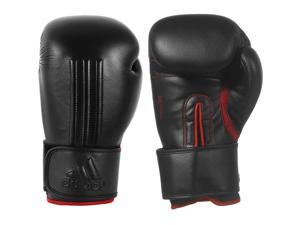 Adidas Energy 300 Boxing Gloves - 18 oz. - Black/Red Poppy