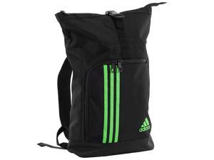 Adidas Combat Rolltop Backpack - Black/Green
