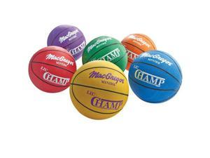 Mini Basketballs by MacGregor, 22'' Set of 6 - Lil' Champ
