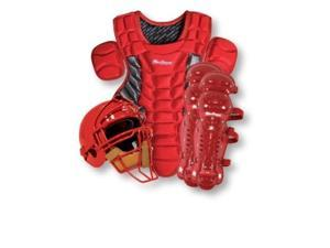 MacGregor Baseball Catchers Gear with Rawlings Helmet - Junior Color: Royal