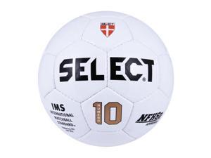 Select Soccer Ball, White - Numero 10 Size: 5