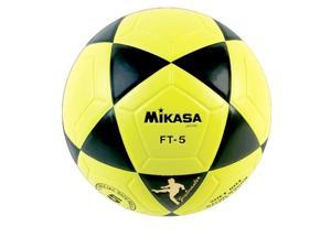 Soccer Ball by Mikasa Sports - Goal Master Size 5, Black/Yellow
