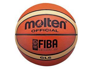 Molten GL6 Official FIBA Olympic Leather Indoor 28.5 Intermediate Basketball