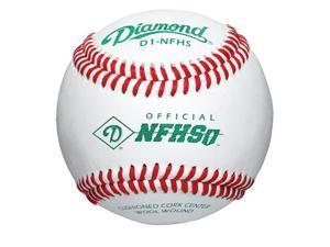 Diamond Baseballs D1-NFHS - (One Dozen)