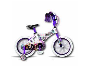 Bratz 16'' White/Purple Bike