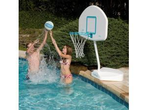 Dunnrite Junior Hoop Swimming Pool Basketball Hoop with Stainless Steel Rim