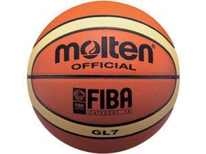 Molten GL7 Official FIBA Olympic Leather Indoor 29.5 Basketball