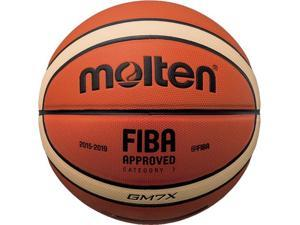 Molten X-Series Basketball, 12-Panel 2-Tone Synthetic - Size 7