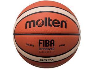 Molten X-Series Basketball, 12-Panel 2-Tone Composite - Size 7