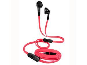 Seehot Mobile Phone Headphones With Microphone & Adjusting volume (SH-MHS600)-Red