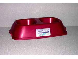 Van Ness Plastic Molding Heavyweight Double Dish, Assorted, 64 Ounce - DD3W
