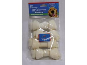 Pet Factory Inc Use Dog Bone, 4-5 Inch/4 Pack - 74404