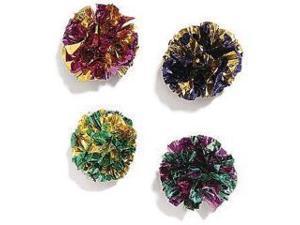 Ethical Pet Mylar Balls, 1.5 Inch/4 Pack - 2131