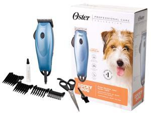 Oster Corporation Pet Oster Lucky Dog Clipper Kit, Blue - 078960-000-000