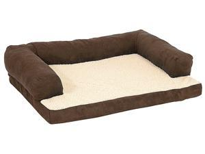 Bolstered Ortho Bed for Dog,  Color: Assorted , Size: 40  X 30