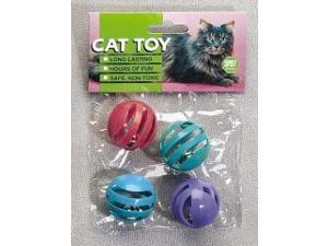 Ethical Pet Slotted Balls, 4 Pack - 2848