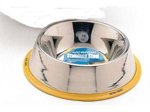 Ethical Pet Stainless Steel Mirror Finish No Tip Dish, 16 Oz - 6035